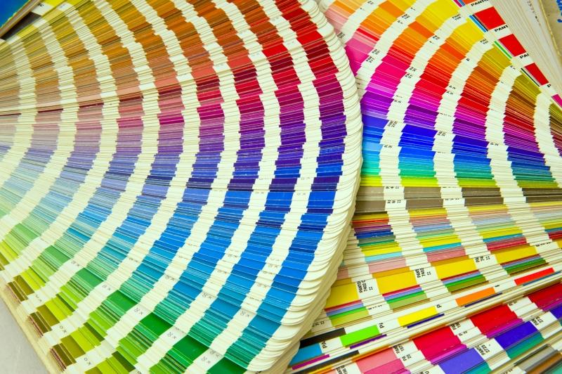 exempel på tryckfärger